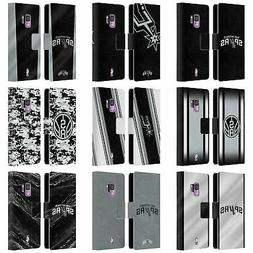 OFFICIAL NBA SAN ANTONIO SPURS LEATHER BOOK CASE FOR SAMSUNG