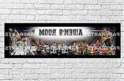 Personalized NBA San Antonio Spurs Name Poster with Border M