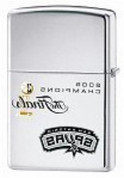Rare 2005 NBA Championship San Antonio Spurs Zippo Lighter 2