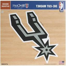 "San Antonio Spurs 12"" x 12"" Car Magnet"