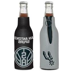 San Antonio Spurs 12oz Two Sided Bottle Cooler  NBA Can Hold