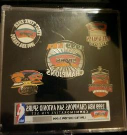San Antonio Spurs 1999 NBA Champions Commemorative Limited E