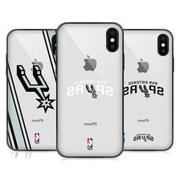 NBA SAN ANTONIO SPURS 2 FIT HYBRID CLEAR CASE FOR iPHONE HUA