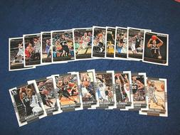SAN ANTONIO SPURS 2014-15 DONRUSS AND HOOPS TEAM SETS LESS O