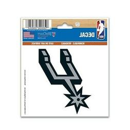 "SAN ANTONIO SPURS 3""X4"" MULTI-USE DECAL PERFECT FOR CAR WIND"