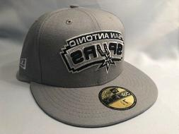 SAN ANTONIO SPURS NEW ERA 59FIFTY SOLID TEAM NBA FITTED Cap