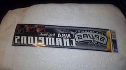 San Antonio Spurs Bumper Sticker 2005 NBA Champions NEW
