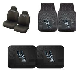 San Antonio Spurs Car Truck Front Rear Awesome Floor Mats Se