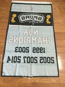 San Antonio Spurs Champions 3x5 Feet Banner Flag NBA