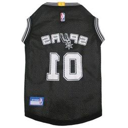 San Antonio Spurs Dog Clothes Pet Jersey NBA for Dog / Cat S