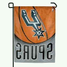 SAN ANTONIO SPURS GARDEN FLAG 11x15 BANNER OUTDOOR RATED WEA