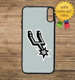 San Antonio Spurs Grey Phone Case for iPhone Galaxy 5 6 7 8