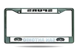 San Antonio Spurs License Plate Cover Metal