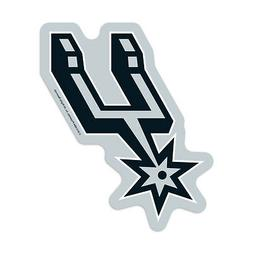 San Antonio Spurs Logo on the GoGo  NBA Car Auto Emblem Sign