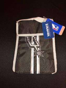 San Antonio Spurs Lunch Bag NBA Insulated Cooler Lunch Box B
