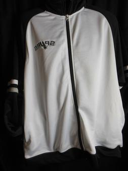 San Antonio Spurs Men's NBA Apparel Front Zipper Track Jacke