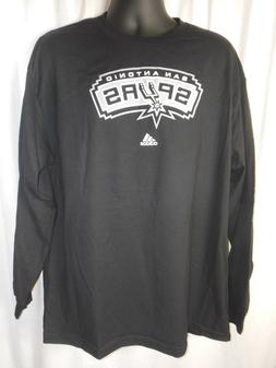 San Antonio Spurs Men's Adidas Long Sleeve Tee Shirt