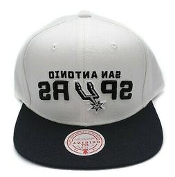 San Antonio Spurs Mitchell & Ness Current XL 2 Tone White Sn