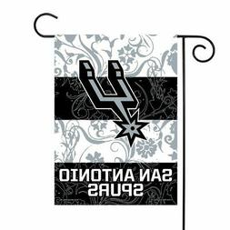 San Antonio Spurs NBA 13x18 Double Sided Polyester Outdoor G