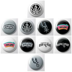 SAN ANTONIO SPURS - NBA basketball pinback buttons - sports
