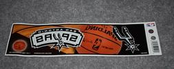 SAN ANTONIO SPURS NBA BASKETBALL SPORTS BUMPER STICKER