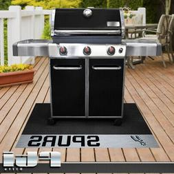 San Antonio Spurs NBA Basketball Vinyl BBQ Patio Outdoor Gri