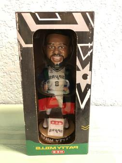 San Antonio Spurs Patty Mills Bobblehead Indigenous Night HE