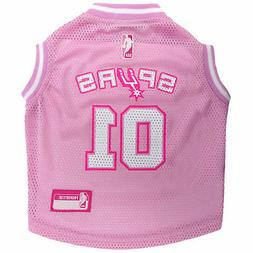 Pets First San Antonio Spurs Pink Jersey