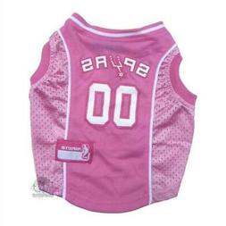 San Antonio Spurs Pink Pet Jersey