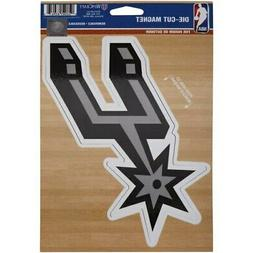 "San Antonio Spurs WinCraft Primary 6"" x 9"" Car Magnet"