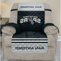 San Antonio Spurs Recliner Slipcover with NBA Team Logo Seat