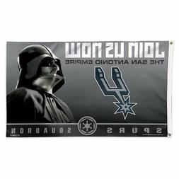 San Antonio Spurs Star Wars Darth Vader Large Outdoor Flag