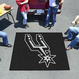 san antonio spurs tailgater mat decor 59