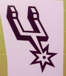 San Antonio Spurs Vinyl Decal Sticker for Iphone.