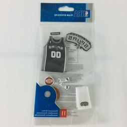NBA Team Stickers San Antonio Spurs Basketball Small Vinyl S
