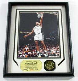 Tim Duncan Framed Display Photo and Coin Highland Mint DF025