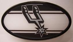 Trailer Hitch Cover NBA Basketballl San Antonio Spurs NEW 2""