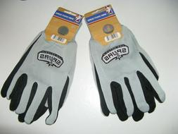 TWO  PAIR OF SAN ANTONIO SPURS, SPORT UTILITY GLOVES FROM FO